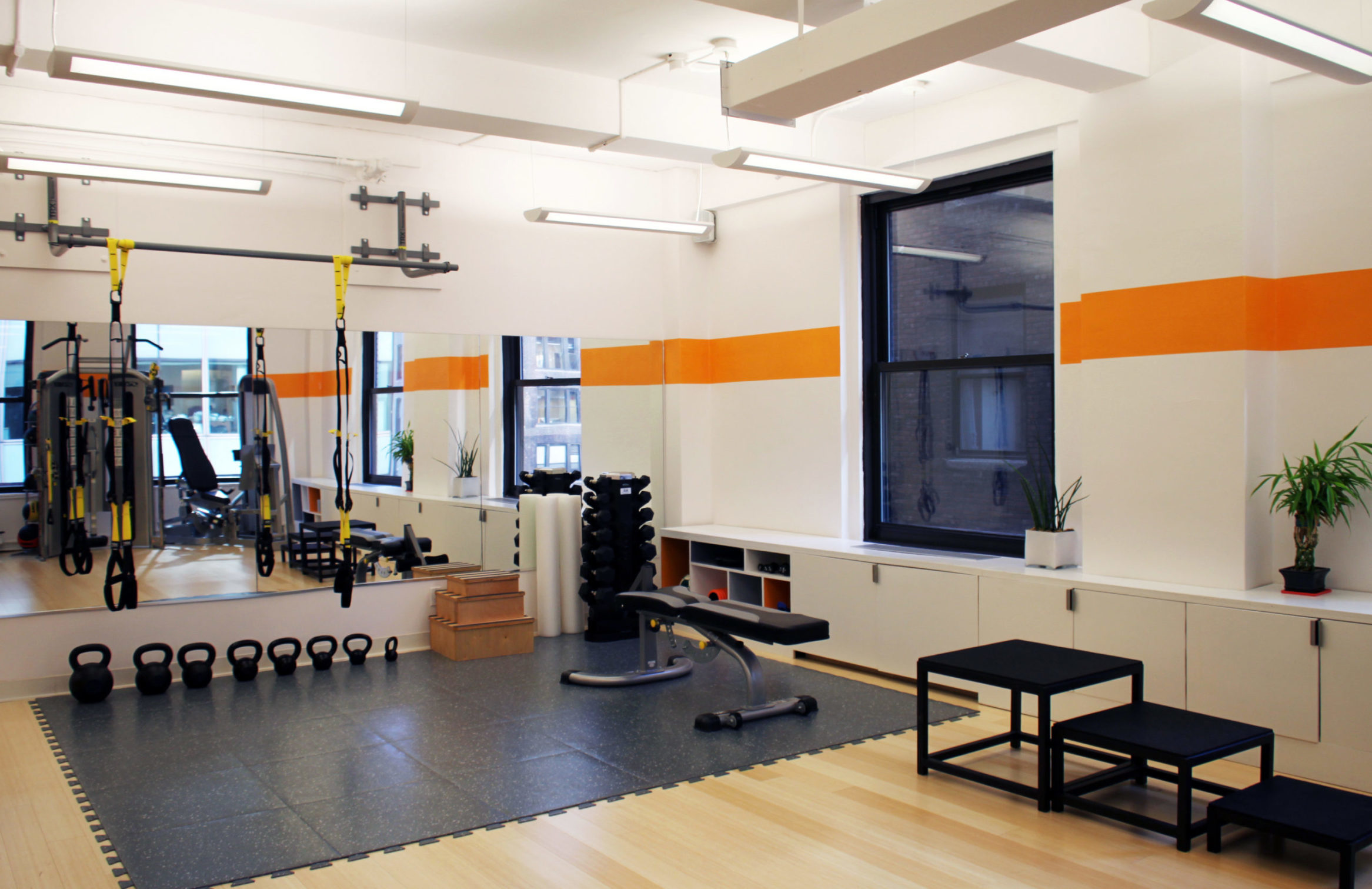 befit gym & therapy facility, designed by EXD Architecture, New York City