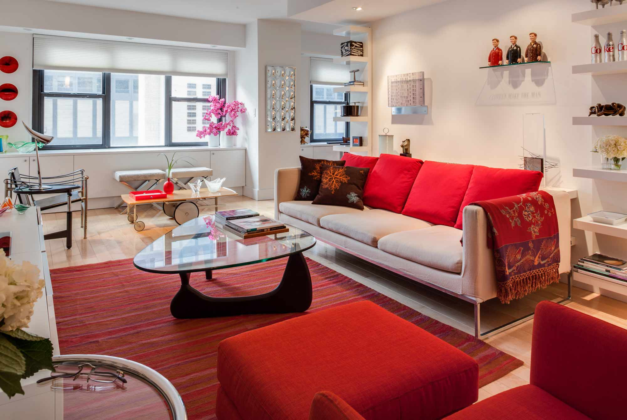 Gut renovation of Manhattan apartment, New York city