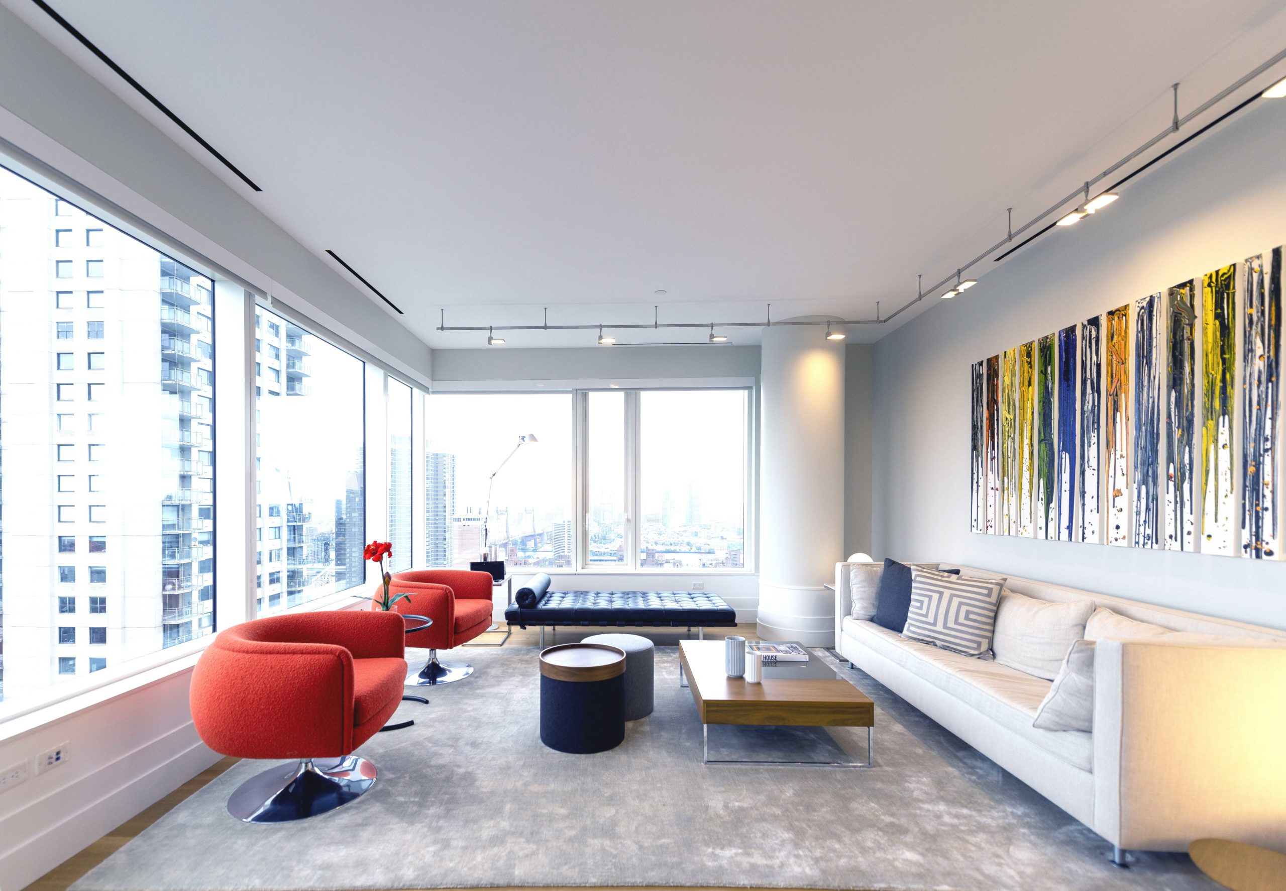 Luxury apartment design New York City by EXD Architecture