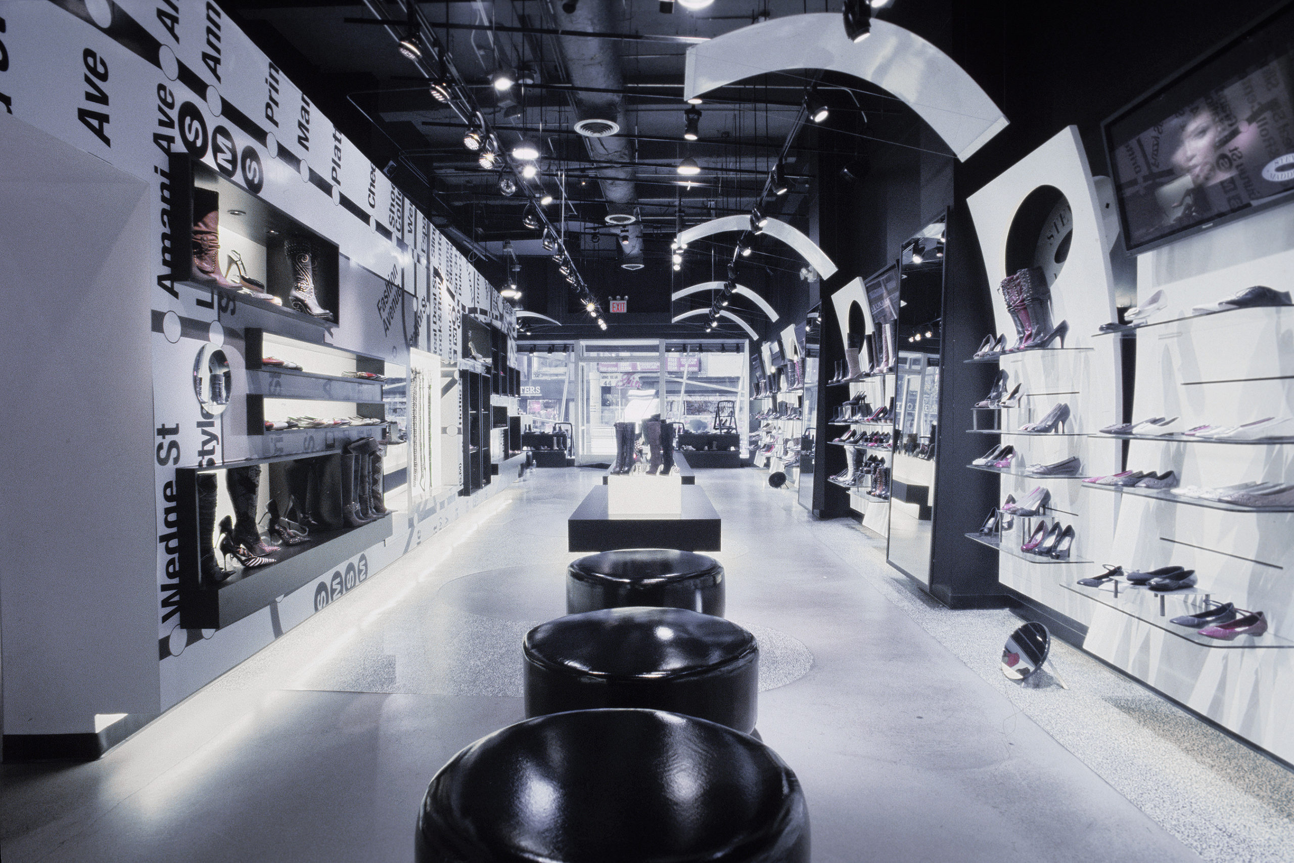 Steve Madden Flagship retail store design