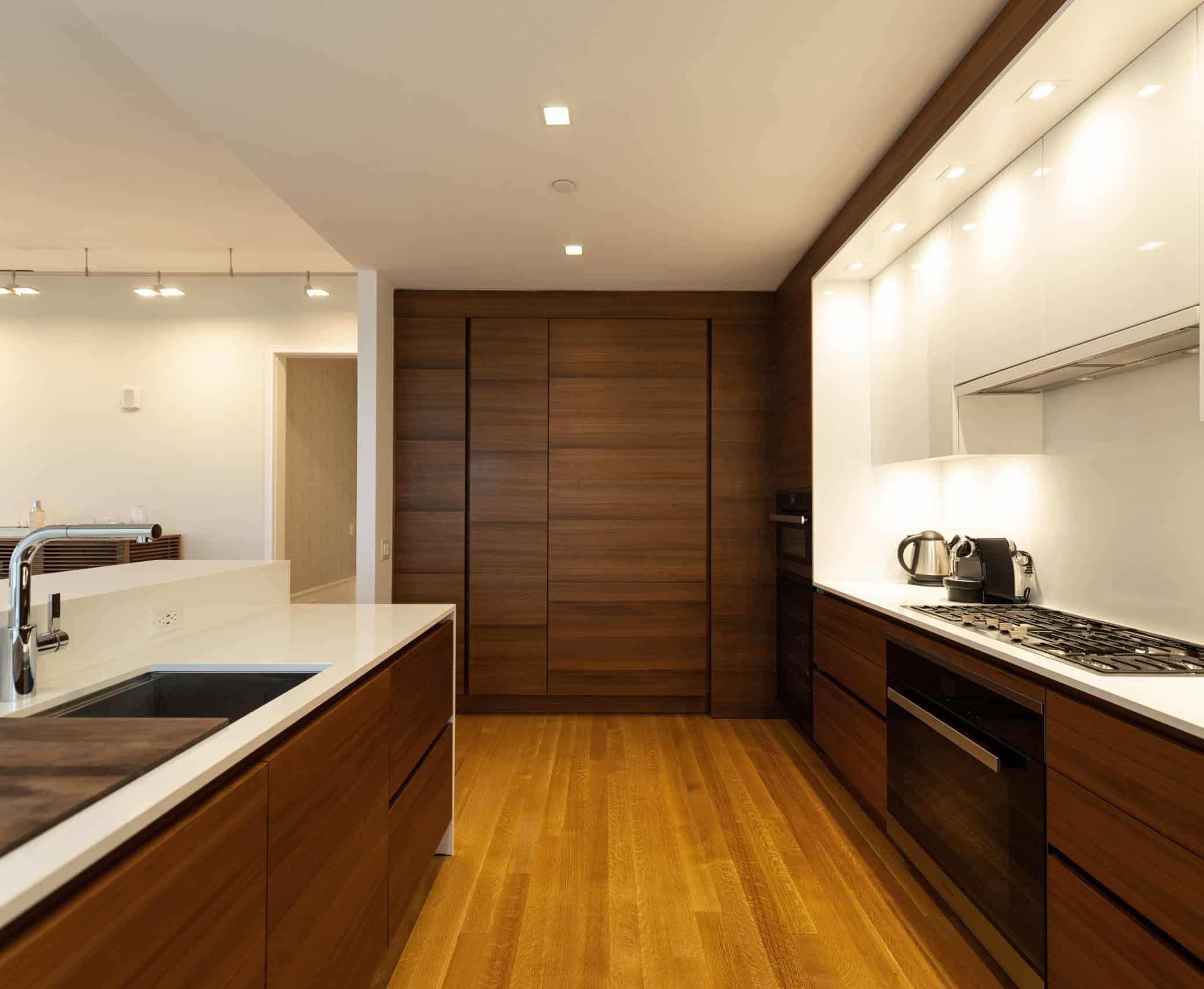 Luxury kitchen design on Billionaire's row, New York City
