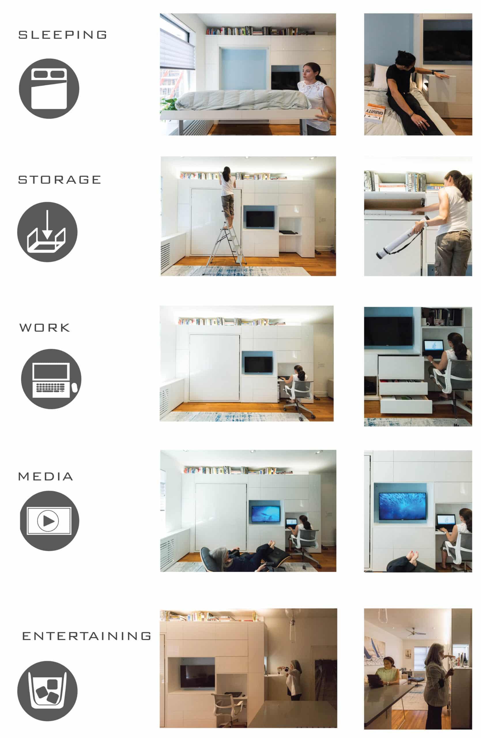 24 hour apartment design New York City