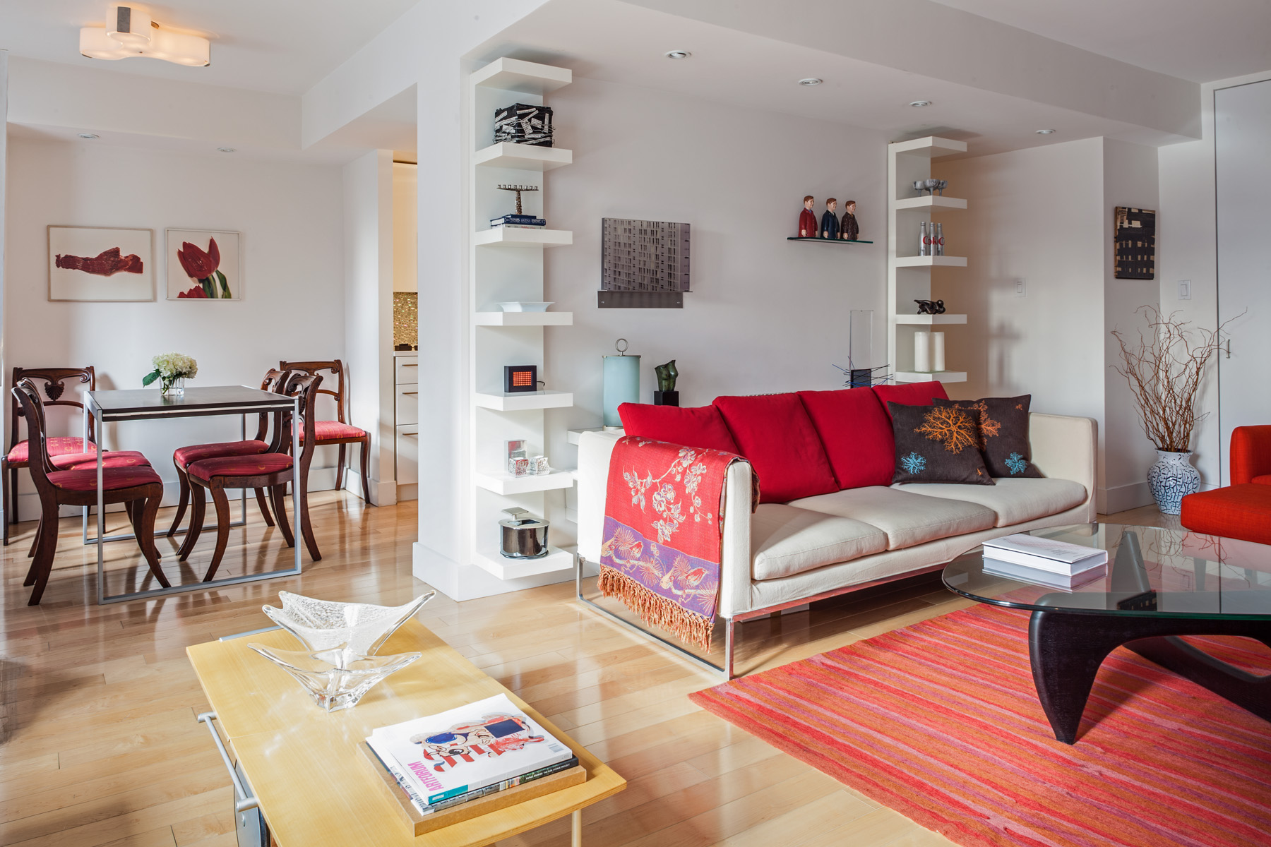 Apartment gut renovation to maximise space
