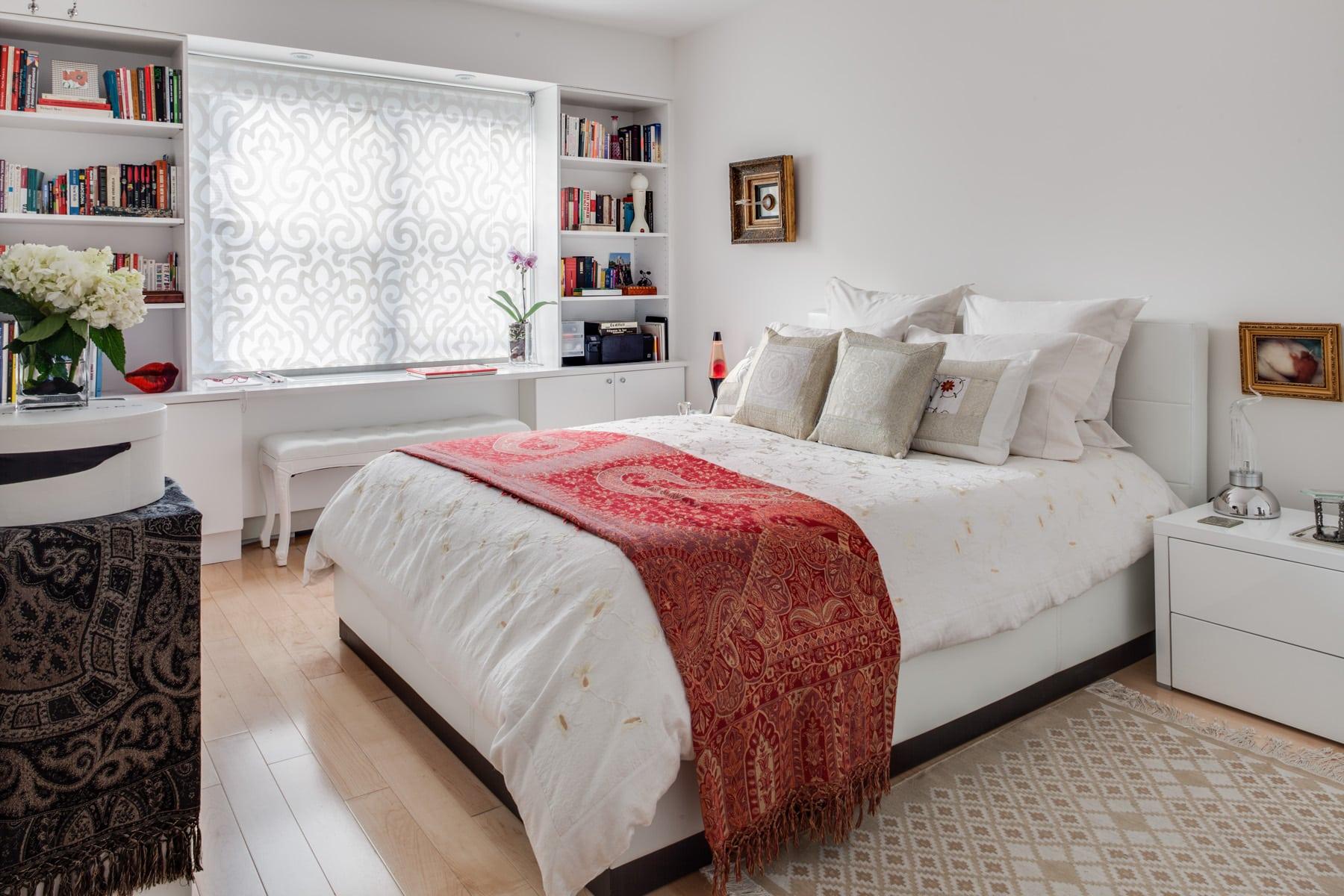 Master bedroom renovation, Manhattan