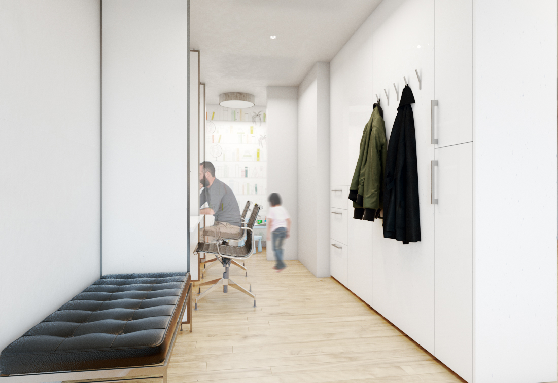 Interior design to maximise space in Upper East Side apartment