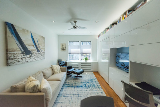 Repurpose of one bedroom apartment to two bedroom in New York City