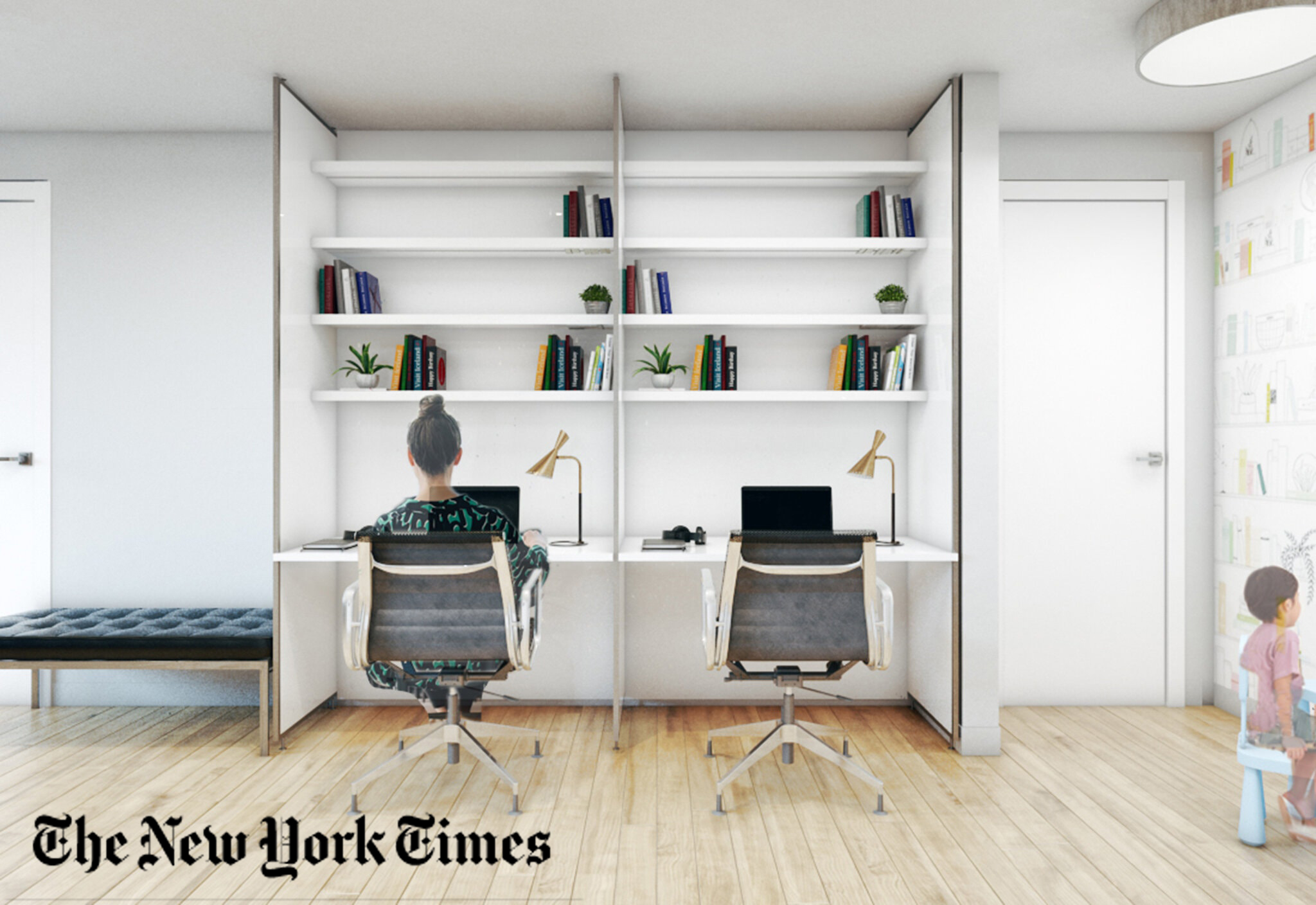 New York Times featured EXD Architecture's Double wall design solution