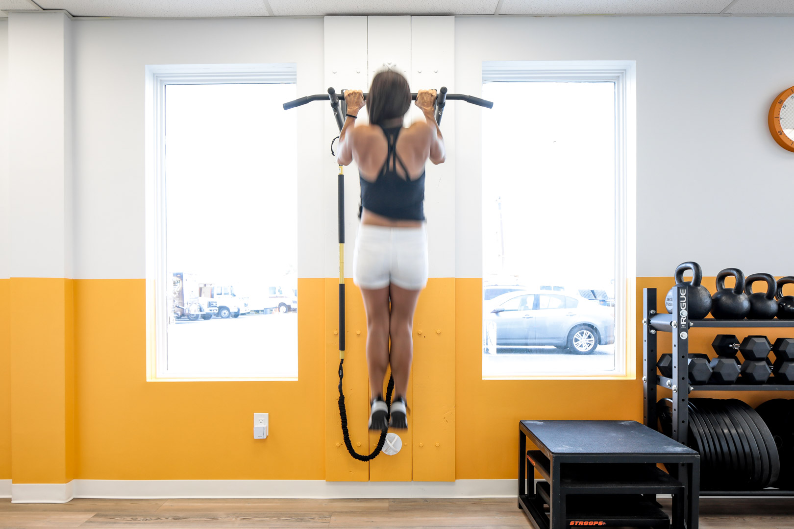 Gym design for commercial renovation, New York City