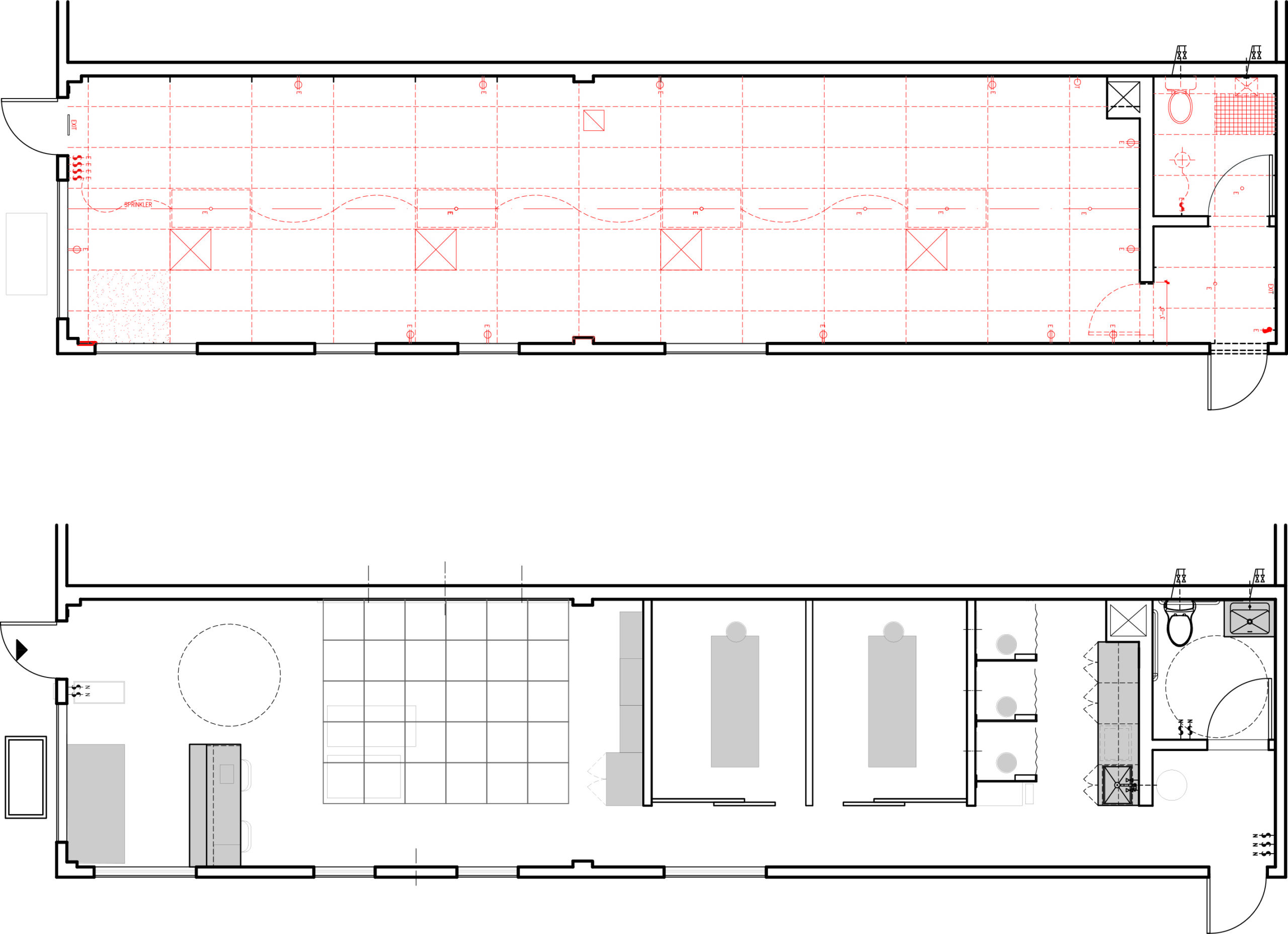 Proposed commercial renovation to create therapy space, NYC