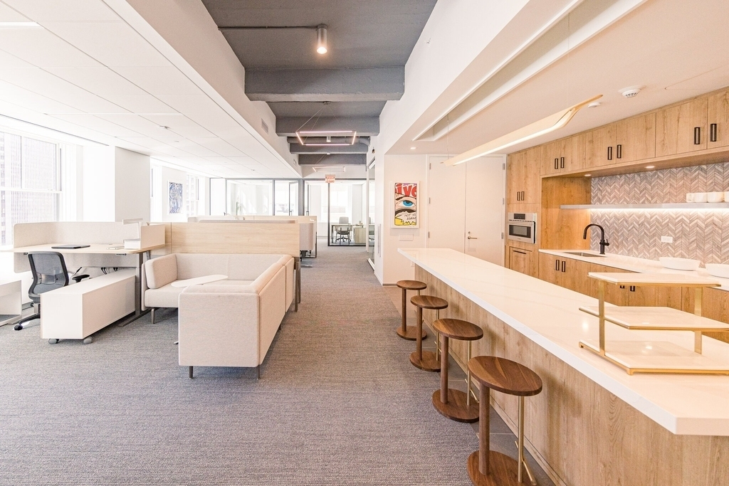 New York office spaces redesigned post Covid
